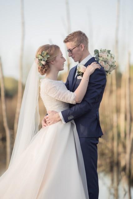 Bruidskapsel | bruiloft fotoshoot