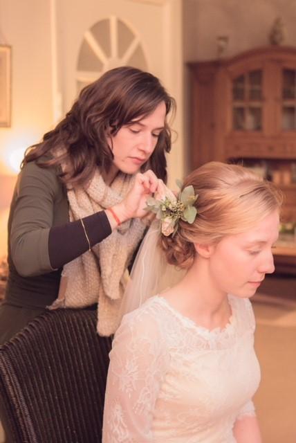 Bruidskapsel | bruidskapster | bloemenkapsel