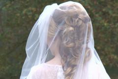 Bruidskapsel krullen