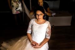 bruidskapsel bruid
