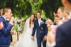 bruiloft bruidskapsel