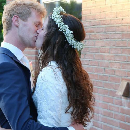 Bruidskapsel nonchelant